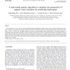 A real-valued genetic algorithm to optimize the parameters of support vector machine for predicting bankruptcy