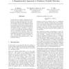 A Regularization Approach to Nonlinear Variable Selection