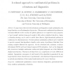 A relaxed approach to combinatorial problems in robustness and diagnostics