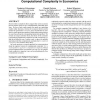 A revealed preference approach to computational complexity in economics