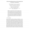 A Role-Based Infrastructure for the Management of Dynamic Communities