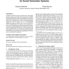 A scalable, collaborative similarity measure for social annotation systems