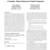 A scalable, robust network for parallel computing