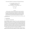 A Security Model for Anonymous Credential Systems