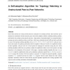 A Self-adaptive Algorithm for Topology Matching in Unstructured Peer-to-Peer Networks