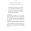 A Self-managing SIP-Based IP Telephony System Based on a P2P Approach Using Kademlia