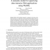 A semantic model for specifying data-intensive Web applications using WebML