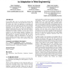 A semantics-based aspect-oriented approach to adaptation in web engineering