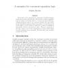 A Semantics for Concurrent Separation Logic