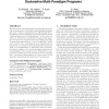 A semantics for tracing declarative multi-paradigm programs