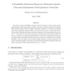 A Semidefinite Relaxation Scheme for Multivariate Quartic Polynomial Optimization with Quadratic Constraints