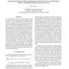 A shape reconstruction method for diffuse optical tomography using a transport model and level sets