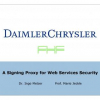 A Signing Proxy for Web Services Security