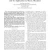 A simple thermal model for multi-core processors and its application to slack allocation