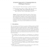 A Social Approach to Communication in Multiagent Systems