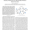 A Sophisticated Privacy-Enhanced Yet Accountable Security Framework for Metropolitan Wireless Mesh Networks