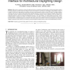 A Spatially Augmented Reality Sketching Interface for Architectural Daylighting Design