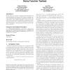 A stigmergy-based algorithm for black-box optimization: noisy function testbed