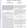 A stochastic geometry model for the best signal quality in a wireless network