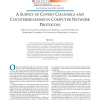 A survey of covert channels and countermeasures in computer network protocols