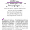 A survey of multipoint relay based broadcast schemes in wireless ad hoc networks