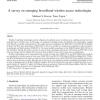 A survey on emerging broadband wireless access technologies