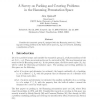A Survey on Packing and Covering Problems in the Hamming Permutation Space