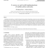 A survey on real-world implementations of mobile ad-hoc networks