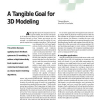 A Tangible Goal for 3D Modeling