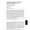 A theoretical framework for interaction measure and sensitivity analysis in cross-layer design