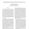 A Topology-Independent Fair Queueing Model in Ad Hoc Wireless Networks