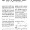 A Trajectory Piecewise-Linear Approach to Model Order Reduction and Fast Simulation of Nonlinear Circuits and Micromachined Devi