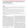 A Tree Based Method for the Rapid Screening of Chemical Fingerprints