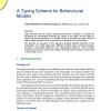 A Typing Scheme for Behavioural Models