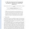 A UML Based Deployment and Management Modeling for Cooperative and Distributed Applications