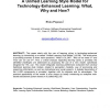A Unified Learning Style Model for Technology-Enhanced Learning: What, Why and How?