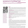 A unified methodological approach for the development of knowledge cities