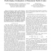 A Union Bound Approximation for Rapid Performance Evaluation of Punctured Turbo Codes