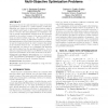 Accelerating convergence using rough sets theory for multi-objective optimization problems