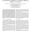 Accelerating high-level engineering computations by automatic compilation of Geometric Algebra to hardware accelerators
