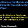 Accelerating Parallel Analysis of Scientific Simulation Data via Zazen