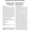 Accumulated motion energy fields estimation and representation for semantic event detection