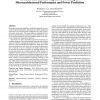Accurate and efficient regression modeling for microarchitectural performance and power prediction