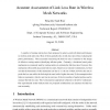 Accurate Assessment of Link Loss Rate in Wireless Mesh Networks