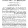 Achieving minimum-cost multicast: a decentralized approach based on network coding