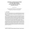 Adaptation of Organizational Models for Multi-Agent Systems Based on Max Flow Networks