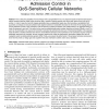 Adaptive Bandwidth Reservation and Admission Control in QoS-Sensitive Cellular Networks