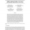 Adaptive compressed sensing - A new class of self-organizing coding models for neuroscience
