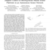 Adaptive Control of Heterogeneous Marine Sensor Platforms in an Autonomous Sensor Network