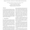 Adaptive dimension reduction for clustering high dimensional data
